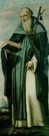 der hl. antonius eremit by marco basaiti