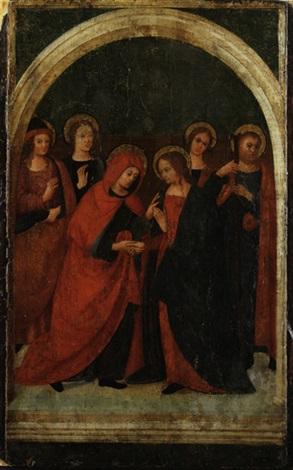 die heimsuchung mariae by domenico ghirlandaio
