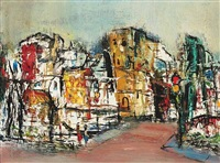 evening (+ street scene, smllr; pair) by roger holt