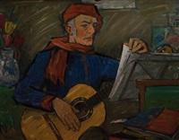 der gitarrenspieler by heinrich emil adametz