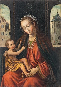 virgen con el niño by flemish school (15)