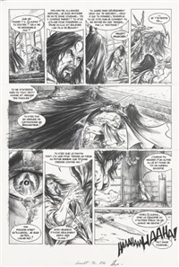 lancelot, planche 10 (tome 2)(for album) by alexe