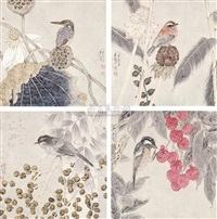 flowers-birds (+ 3 others; 4 works) by guo ziliang