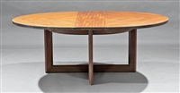 low extension table by frank lloyd wright