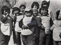kindergarten kids in yan'an by xu xiaobing