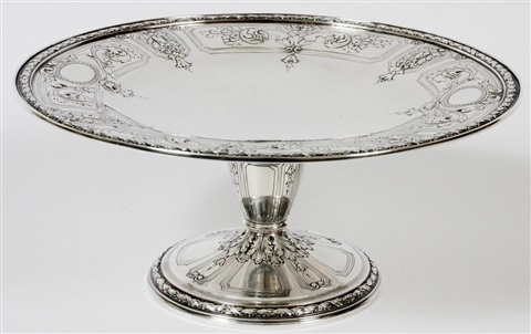 gorham maintenon sterling compote h 4 dia 9 14