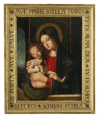 madonna mit kind by jacopo da valenza