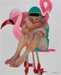 女孩与火烈鸟 by liu ying