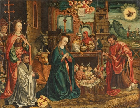 the adoration of the child by german school cologne 16