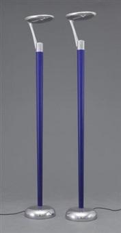 paire de lampadaires (model spoon) by adatte design (co.)