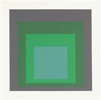sp ix, pl. 9 (from sp) by josef albers