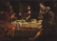 das mahl in emmaus by alessandro tiarini
