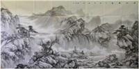 溪山春意图 by liu guang