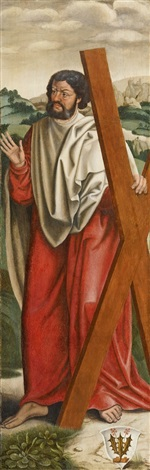saint andrew by anonymous german 16