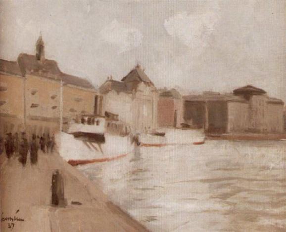 waxholmsbåtar vid blasieholmen stockholm by akke kumlien