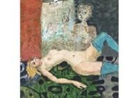 femme nue by paul aïzpiri