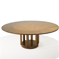 pedestal dining table by eliel saarinen
