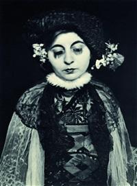 maskenselbstbildnisse (8 works) by gertrud arndt