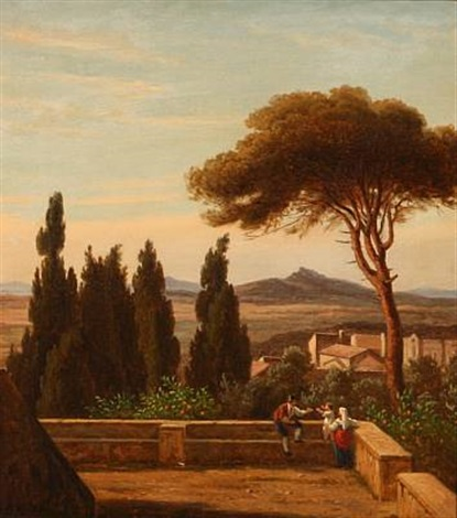 an italian family enjoys the view by peter johann p raadsig