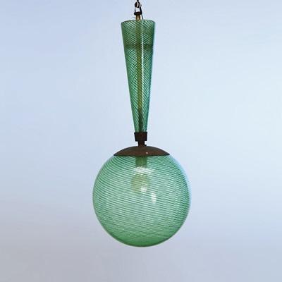 una lampada a plafone by carlo scarpa