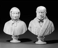 porträtbüsten des ehepaares lukas brüning by joseph von kopf