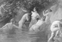 das bad der diana by francois joseph vernay