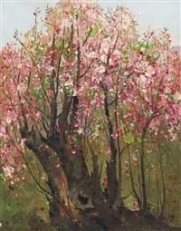 plum blossoms by wu guanzhong