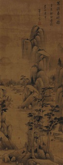 the early spring in shao xi by dong qichang