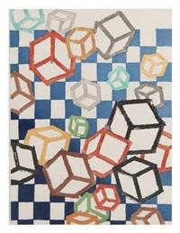 floating world (+ 4 others; 5 works) by mel bochner