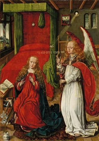 verkündigung an maria by anonymous dutch 15