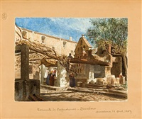 el lavadero del convento de capuchinas de barcelona by francesc solder i rovirosa