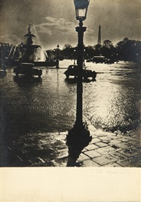 parigi, place de la concorde by albert monier