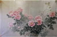 牡丹图 by liu guang