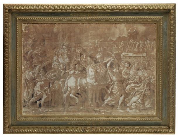 römischer triumphzug by anonymous italian 16