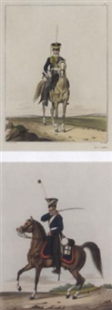 darstellung der königlich preussischen cavallerie in 41 figuren by johann friedrich jügel