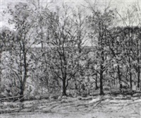 the artist's farm, ipswich by theodore wendel