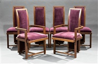 dining chairs by frank lloyd wright