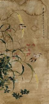花鸟图 by ma mei