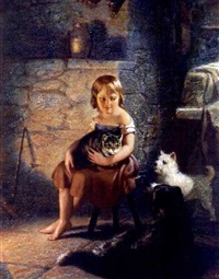 kitty's pets by benjamin franklin reinhart