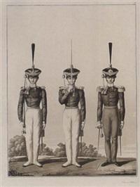 darstellung der königlich preussischen infanterie in 36 figuren by johann friedrich jügel