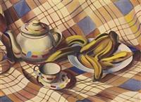 stilleben mit bananen by christian arnold