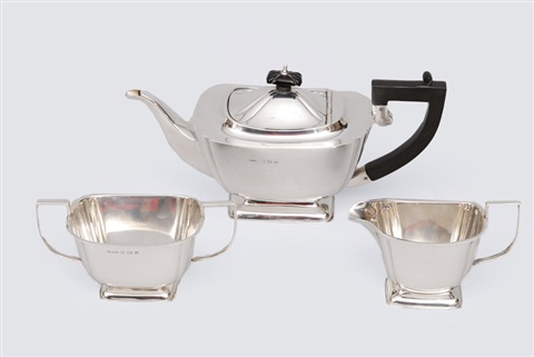 tea service set of 3 by ar horder co