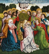 himmelfahrt christi by german school-southern (15)