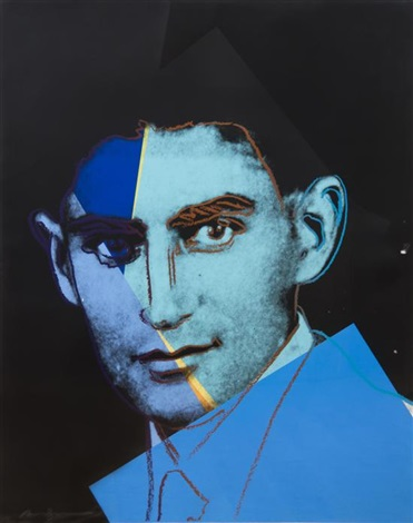 portraits of jews of the 20th century (10 works) by andy warhol