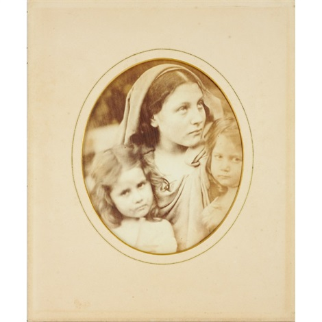 may hillier und kinder by julia margaret cameron