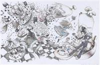 le rêve s'écroule (for album alice au pays des merveilles) by françois amoretti