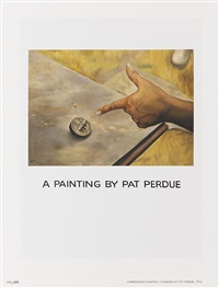 a painting by pat perdue by jonathan monk