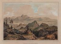 salzburg vom kerschberge gesehen by georg pezolt