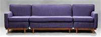 three-piece sectional sofa by frank lloyd wright