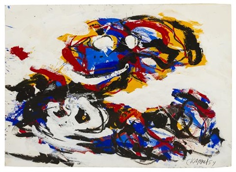 abstract by karel appel